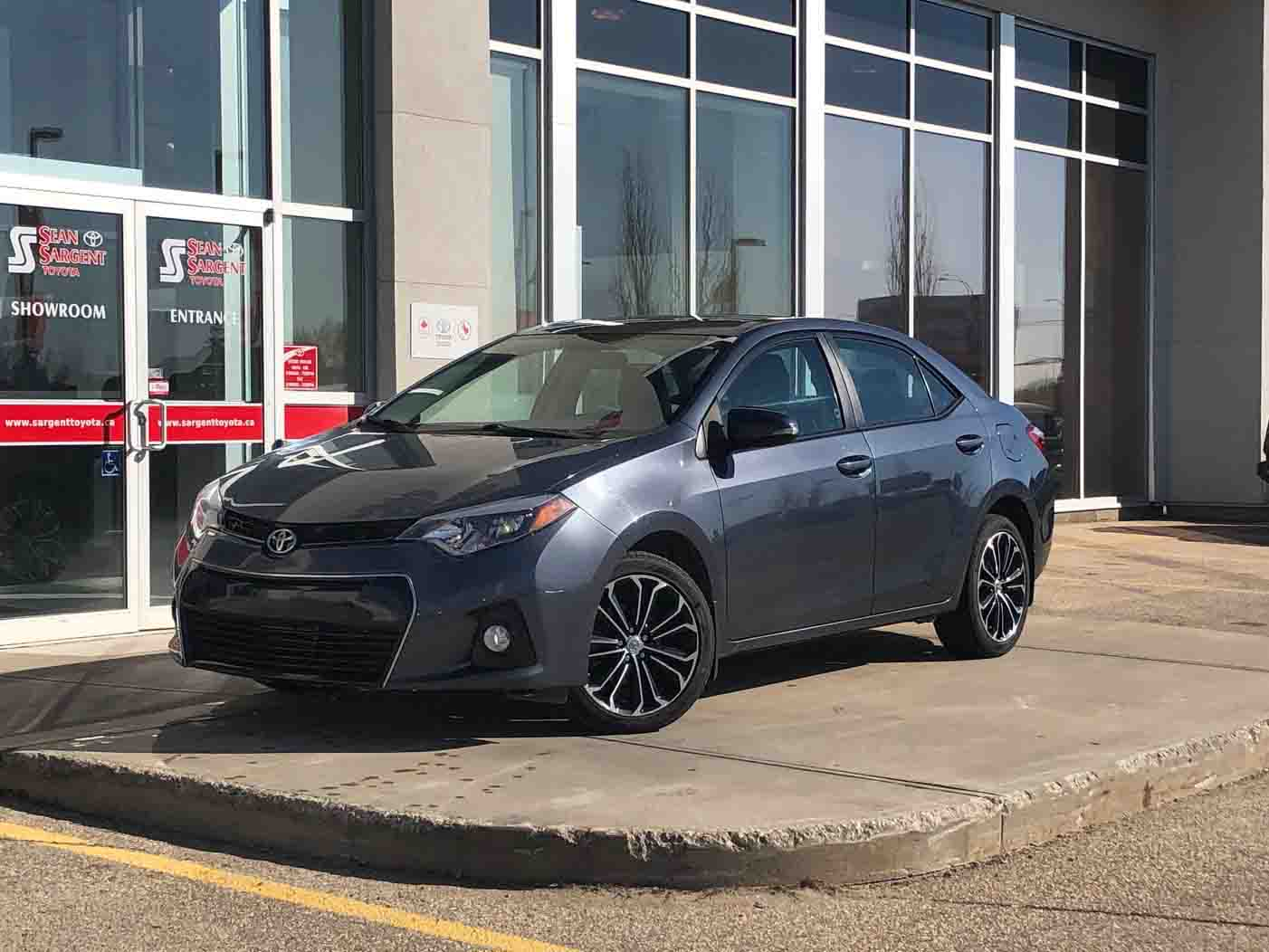 Certified Pre-Owned 2014 Toyota Corolla S Upgrade