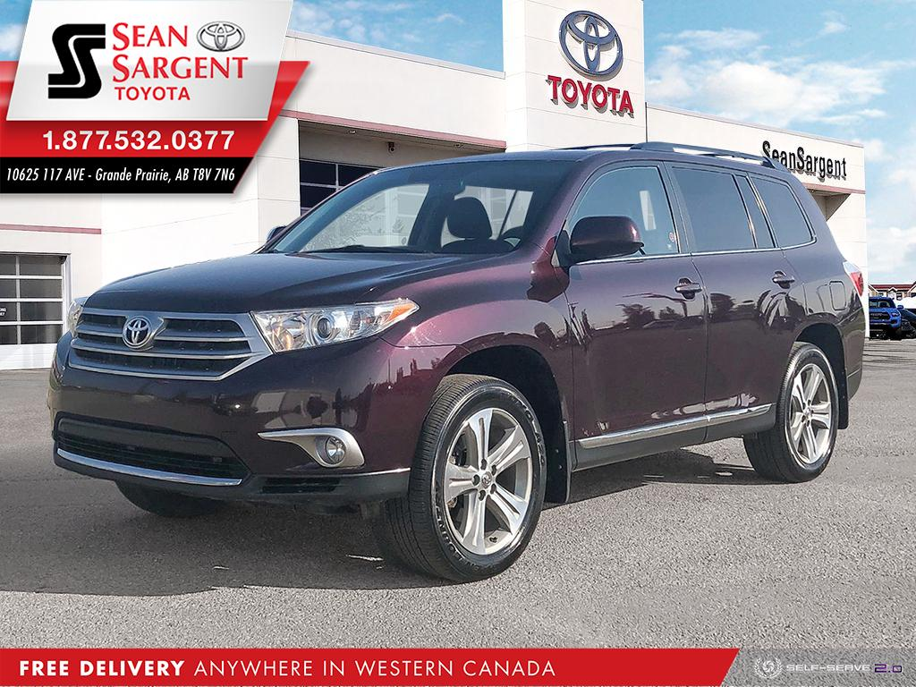 Pre-Owned 2013 Toyota Highlander Sport/Leather