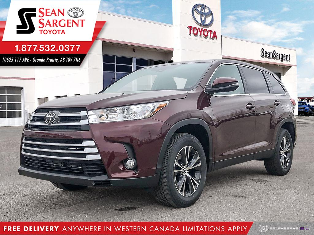 New 2019 Toyota Highlander Convenience Package
