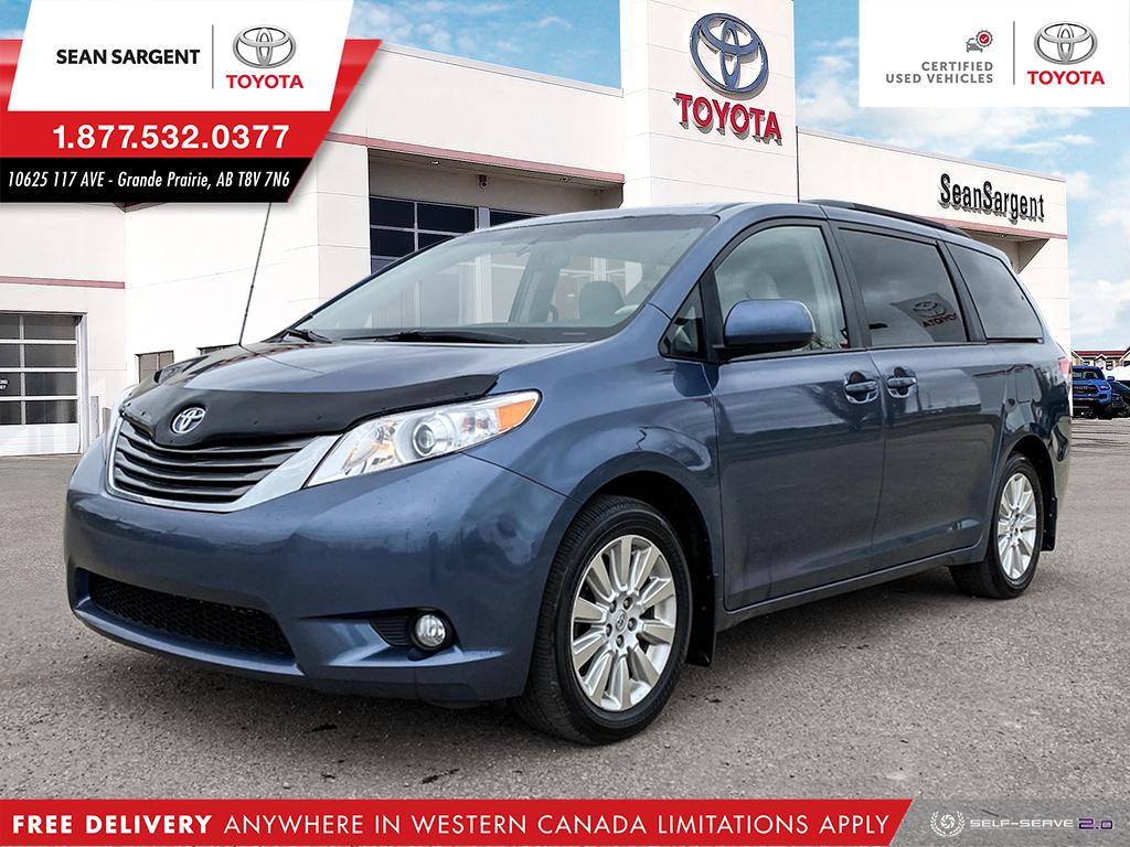 Certified Pre-Owned 2014 Toyota Sienna XLE AWD