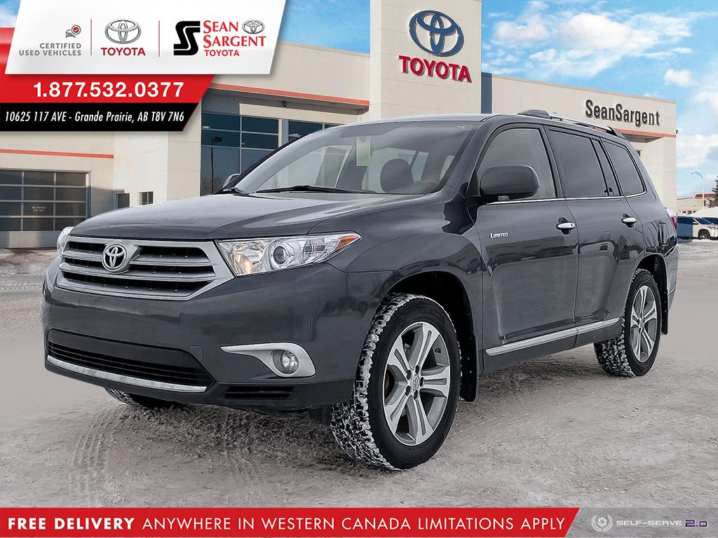 Certified Pre-Owned 2013 Toyota Highlander Limited