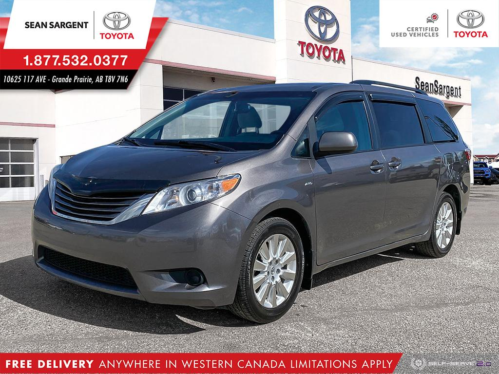 Certified Pre-Owned 2016 Toyota Sienna LE AWD