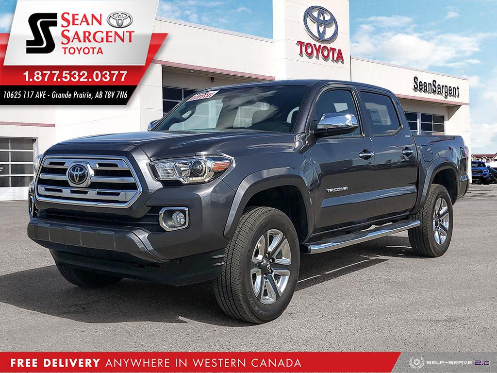 Certified Pre-Owned 2018 Toyota Tacoma Limited
