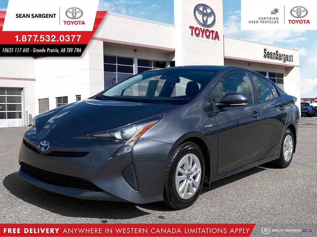 Certified Pre-Owned 2017 Toyota Prius Upgrade Package
