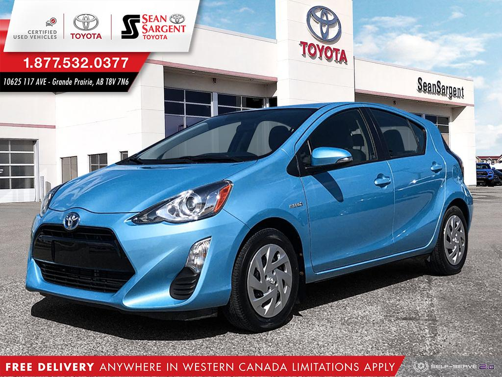 Certified Pre-Owned 2016 Toyota Prius c Technology