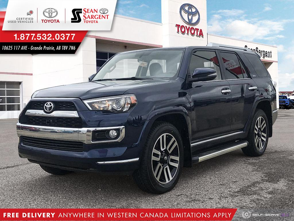 Certified Pre-Owned 2016 Toyota 4Runner Limited 7-Passenger